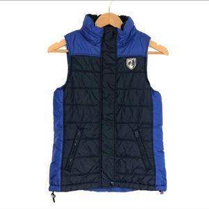American Eagle Zip Up Puffer Vest